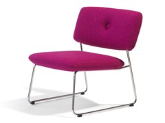- Sled base stackable armchair DUNDRA | Armchair - Blå Station