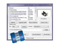 Conversione formati CAD e vettorizzazione automaticaCAD File Converter Plus - INTERSTUDIO