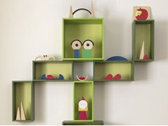 - Open wall cabinet for children EASY BOX - dearkids