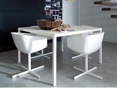 - Lacquered square table TREVI | Square table - Poliform