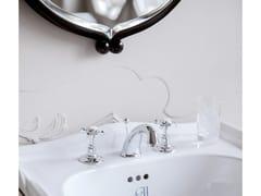 - 3 hole brass washbasin tap HILTON | 3 hole washbasin tap - GENTRY HOME