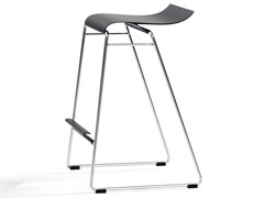 - High stackable stool GECCO O33-65 - Blå Station