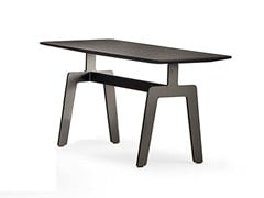 - Oak coffee table for living room TRIBECA | Coffee table - Poliform