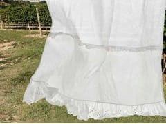 - Linen curtain GENZIANA | Curtain - LA FABBRICA DEL LINO by Bergianti & Pagliani