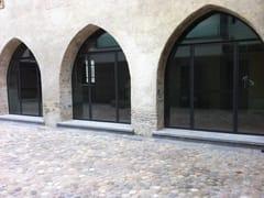 - Galvanized steel patio door BASIC 20/10 E 15/10 | French door - Mogs srl unipersonale