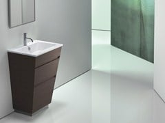 - Rectangular ceramic washbasin STAR 58 | Inset washbasin - CERAMICA CATALANO