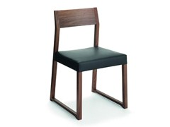 - Wooden chair LINEA | Chair - CIZETA