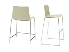 - Sled base counter stool FLEX | Counter stool - Andreu World