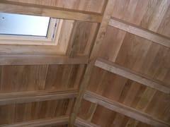 Tetti in legno isolati con pacchetto traspiranteARBOR - INDUSTRIA LEGNAMI TIRANO