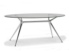 - Oval dining table METROPOLIS | Oval table - SCAB DESIGN