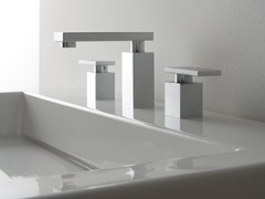 - 3 hole countertop washbasin tap SOLAR | 3 hole washbasin tap - Graff Europe West