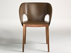 - Wooden chair with armrests VOILE | Wooden chair - i 4 Mariani