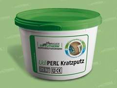 Natural plaster for sustainable building UdiPERL® Primer - UNGER DIFFUTHERM