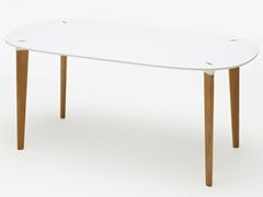 - Rectangular dining table BUFF | Rectangular table - Karl Andersson & Söner