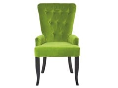 Upholstered velvet chair ELEGANCE BAROCK | Chair - KARE-DESIGN
