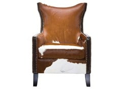 Armchair with armrests DENVER COW | Armchair - KARE-DESIGN