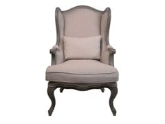 Upholstered armchair GRANDFATHER | Ergonomic wingchair - KARE-DESIGN