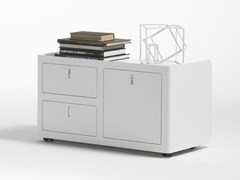 - Metal office drawer unit CBOX DOUBLE - Dieffebi