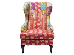 Wingchair PATCHWORK | Wingchair - KARE-DESIGN