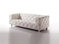 Leather sofa CHARLIE STUDIO DIVANI | Sofa - KARE-DESIGN