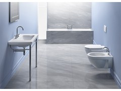- Classic style console rectangular washbasin CANOVA ROYAL 90 | Console washbasin - CERAMICA CATALANO