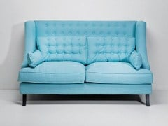 Chesterfield fabric sofa VEGAS | 2 seater sofa - KARE-DESIGN