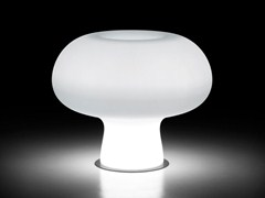 - Polyethylene vase with Light BOYO LIGHT - PLUST Collection by euro3plast