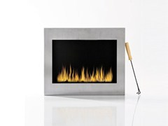 Bioethanol wall-mounted fireplace TEPORE | Wall-mounted fireplace - KARE-DESIGN