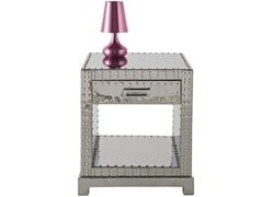 Aluminium bedside table VEGAS | Bedside table - KARE-DESIGN