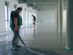 - Pre-mix for thermal insulating screed FE 80 TERMICO - Knauf Italia
