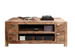 TV cabinet AUTHENTICO TV CABINET | Solid wood TV cabinet - KARE-DESIGN