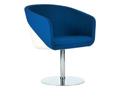 - Swivel easy chair with armrests CABIN | Swivel easy chair - Johanson Design