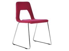 - Sled base chair STUDIO | Sled base chair - Johanson Design