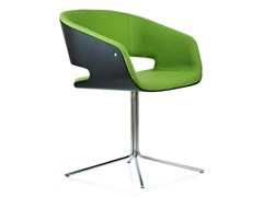 - Chair with 4-spoke base with armrests GAP | Chair with 4-spoke base - Johanson Design
