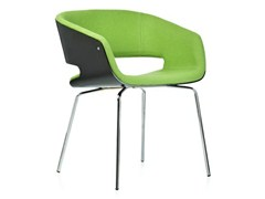 - Upholstered wooden chair with armrests GAP | Chair - Johanson Design