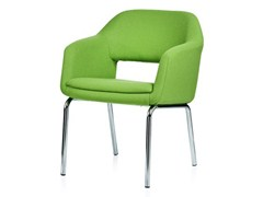- Upholstered easy chair with armrests LARGO | Easy chair - Johanson Design