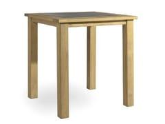 - Teak high table MILANO | High table - MANUTTI
