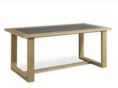 - Rectangular teak garden table SIENA | Rectangular garden table - MANUTTI