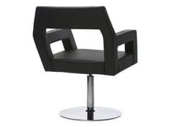 - Swivel leather easy chair NEMO   Swivel easy chair - Johanson Design