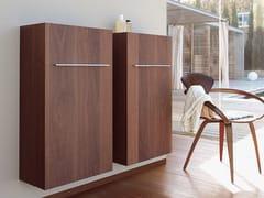 - Tall suspended bathroom cabinet FOGO | Tall bathroom cabinet - DURAVIT