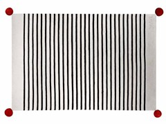 Striped wool rug DUNQUERKE - ROCHE BOBOIS