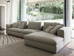 - Sectional sofa LAND | Sofa with chaise longue - Bonaldo