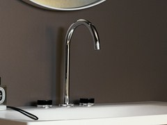 - 3 hole countertop washbasin tap SAVOIR | Washbasin tap - ZUCCHETTI