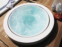 - Overflow outdoor hot tub MINIPOOL | Built-in hot tub - Kos by Zucchetti