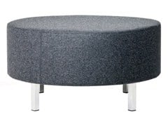 - Upholstered fabric pouf O-80 - Johanson Design