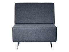 - Upholstered modular fabric armchair U-SIT 71 | Armchair - Johanson Design