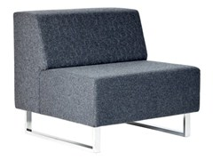 - Upholstered modular guest chair U-SIT 81 | Armchair - Johanson Design