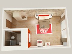 Arredamento per residence in stile modernoFASHION | Camera hotel - MOBILSPAZIO