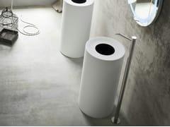 - Freestanding round Korakril™ washbasin HOLE | Freestanding washbasin - Rexa Design