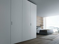 - Lacquered oak wardrobe NEW ENTRY | Wardrobe - Poliform